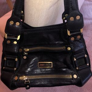 JIMMY CHOO Mahala Shoulder Handbag-Vintage